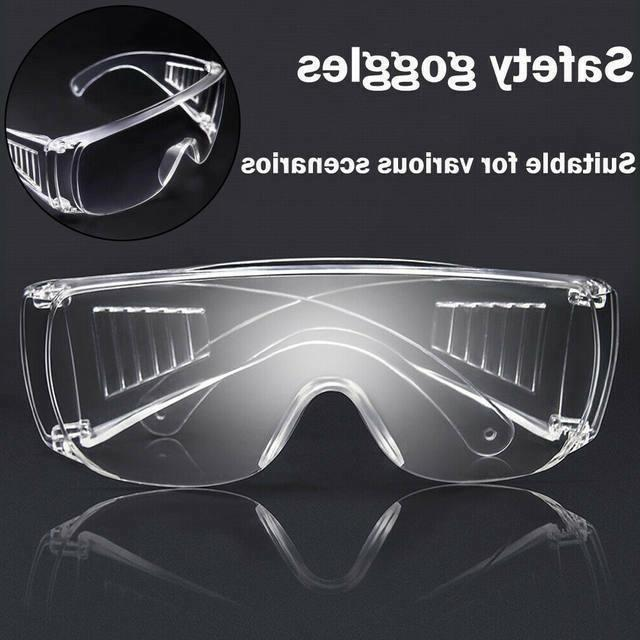 clear safety anti fog goggles glasses