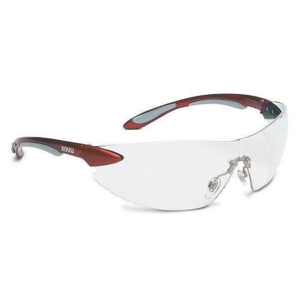 Uvex By Honeywell Clear Safety Glasses, Anti-Fog, Wraparound
