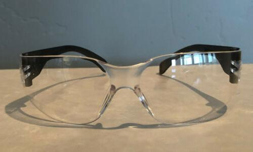 clear safety glasses 2pair one size adult