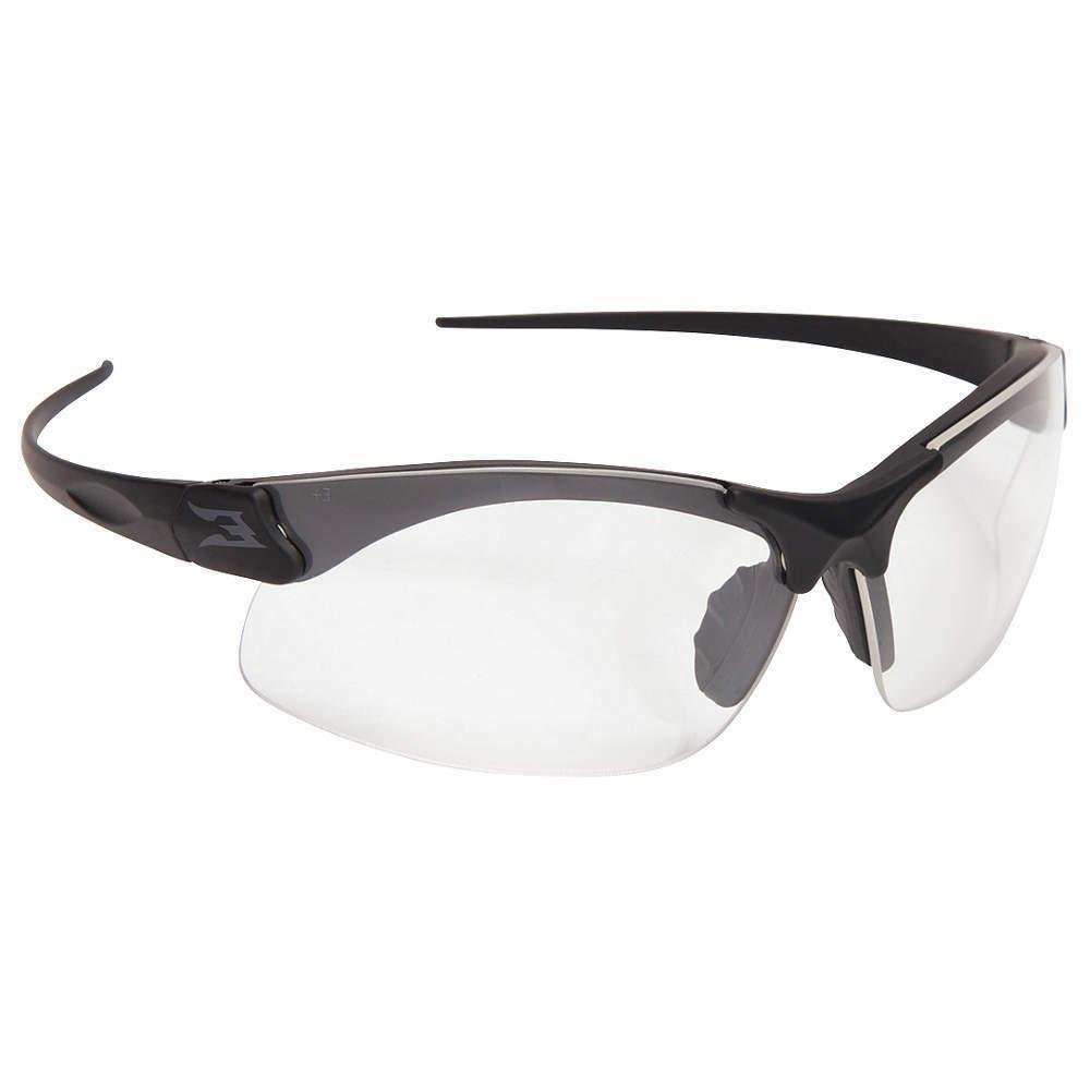 Edge Eyewear Clear Safety Glasses, Anti-Fog, Scratch-Resista