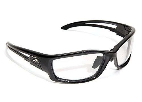 Edge Eyewear Clear Safety Glasses, Anti-Fog, Scratch-Resista
