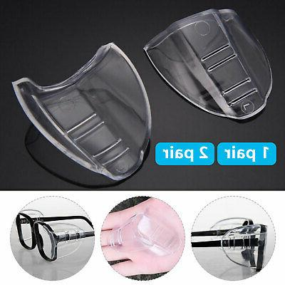clear universal flexible protective side shields