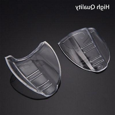 Clear Flexible Protective Side Shields for Eye Glasses