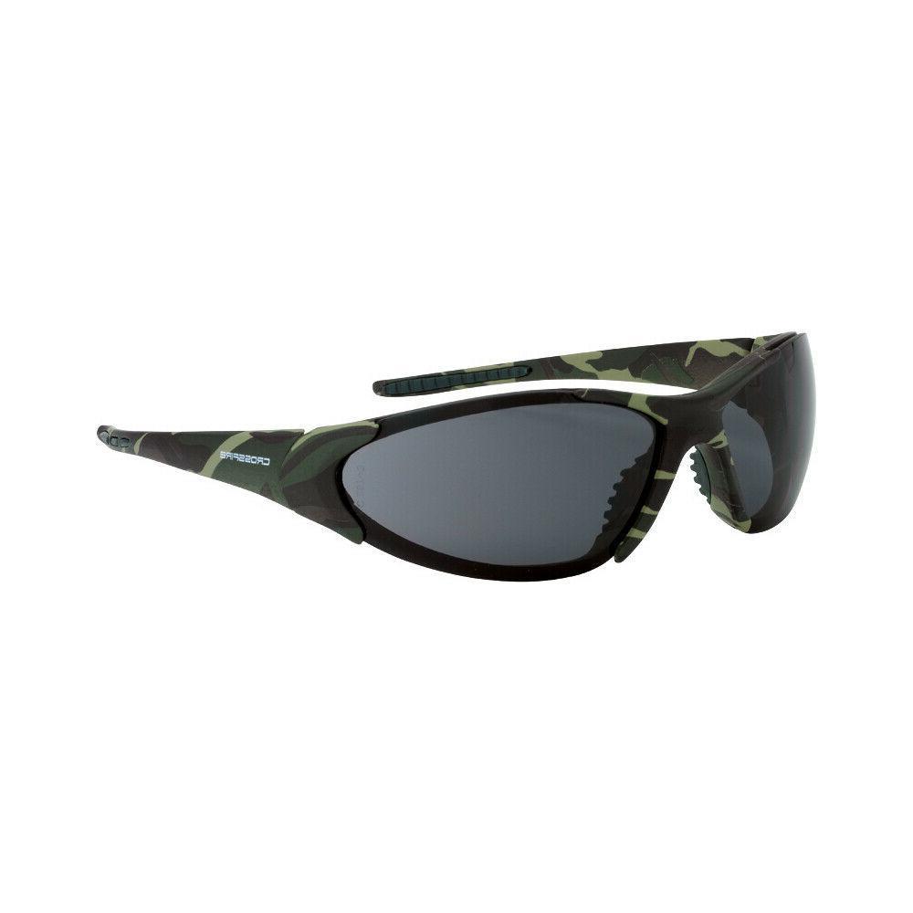 Crossfire Core Camo Military/Green Smoke/Gray Safety Glasses