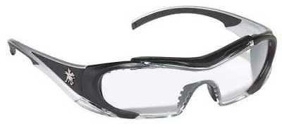 Mcr Safety Crews Clear Safety Glasses, Anti-Fog, Scratch-Resistant,