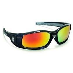 Crews SR11R Swagger Brash Look Polycarb Glasses, Black Frame