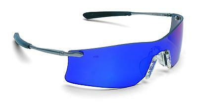 Crews T411G Rubicon Safety Glasses Emerald Mirror, Lens, 1 P