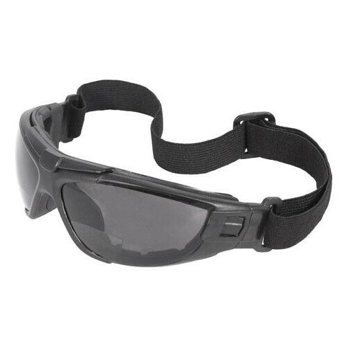 Radians Cuatro 4-in-1 Fog Safety Glasses Goggles Padded