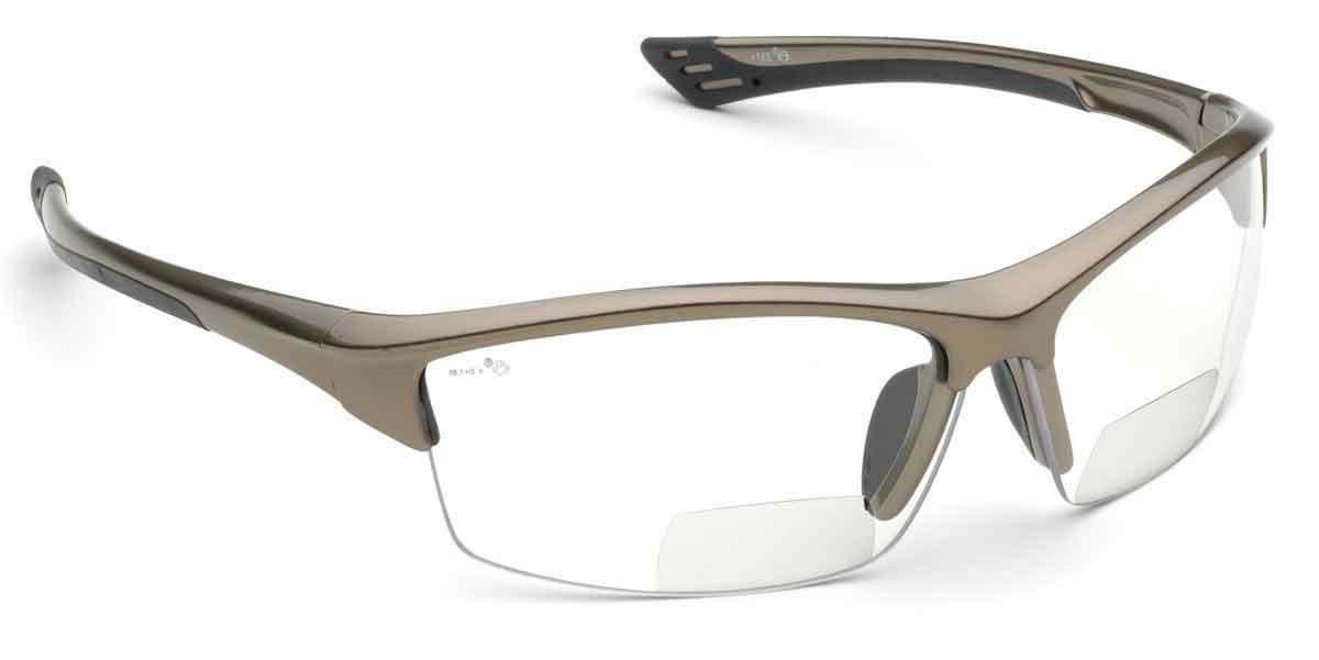 rx350 bifocal safety reading glasses clear 1