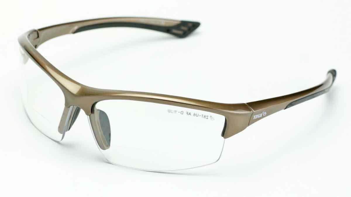 Elvex Plus RX350 Bifocal Safety/Reading Glasses Clear 1.0 to Mag Z87.1