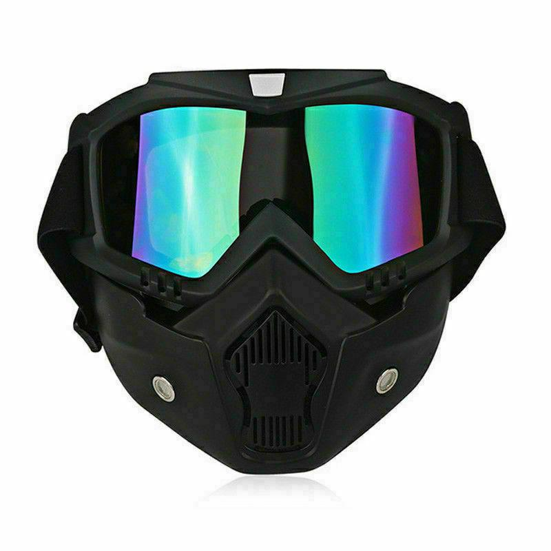 Detachable Safety Goggles Glare