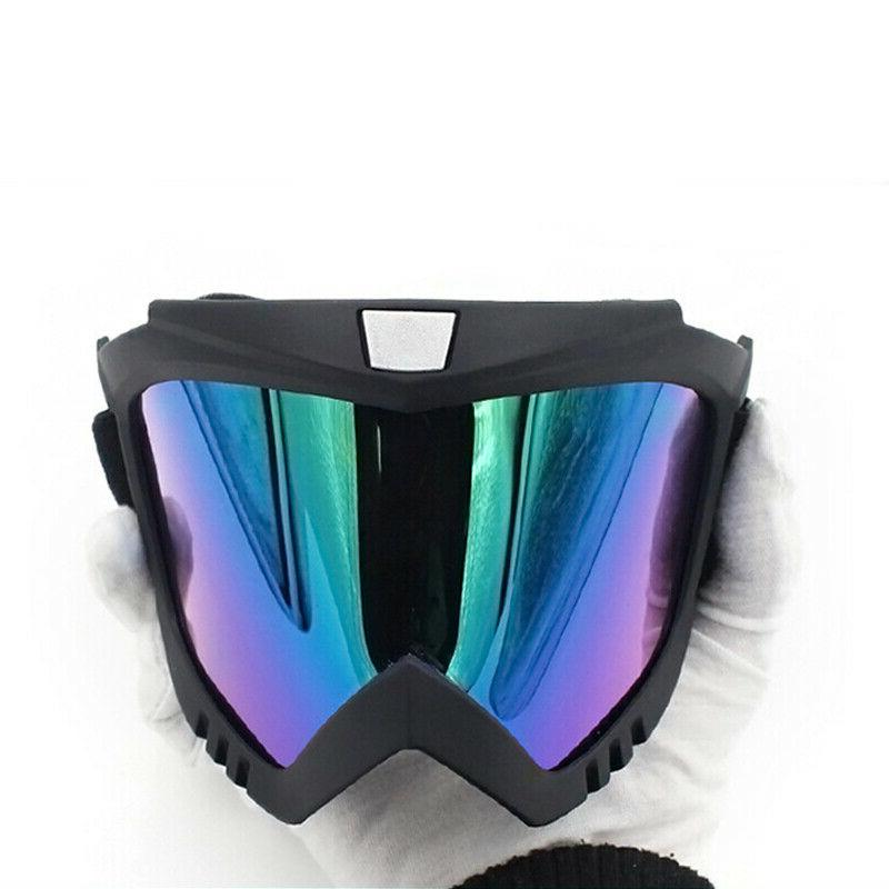 Detachable Mask Goggles Wind Glare