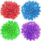 NEW Brybelly 400 Count 16mm Dice  Purple Blue Green Red FREE