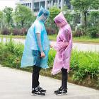 Lot Of 10 Disposable Waterproof Rain Poncho Women Raincoat P