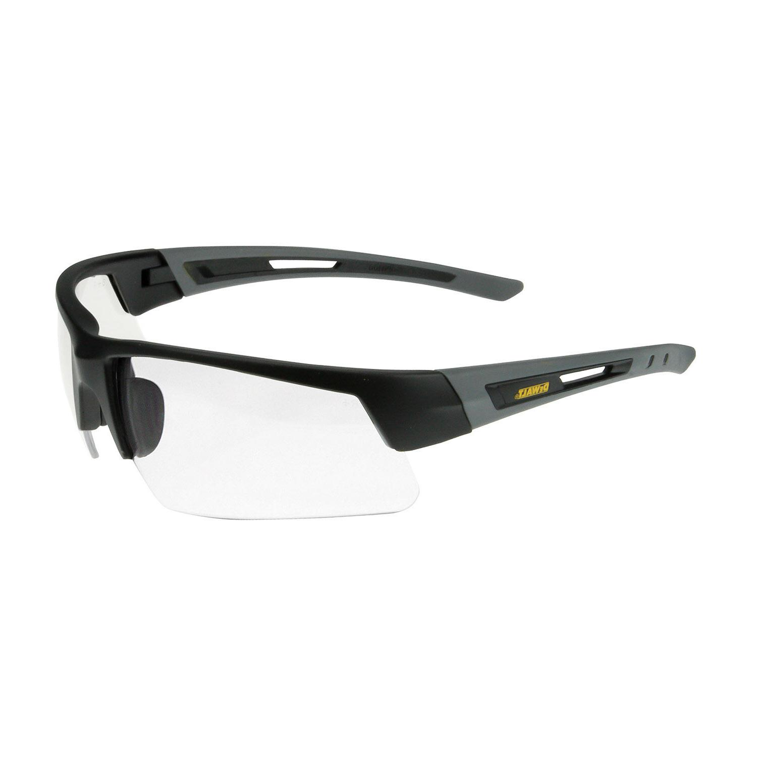 dpg100 1 crosscut safety glasses clear lens