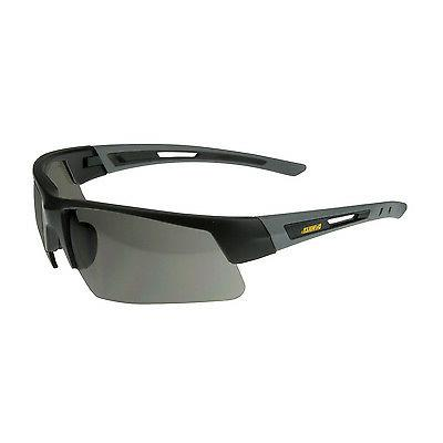 12 DeWalt Crosscut Safety Glasses Smoke Lens Sunglasses UV P