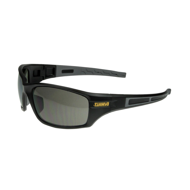 DeWalt  DPG101-2 AUGER Safety Glasses, Smoke Lens ANSI Z87.1