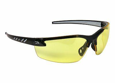 EDGE EYEWEAR - DZ112-G2 Zorge Gloss Black Safety Glasses w/