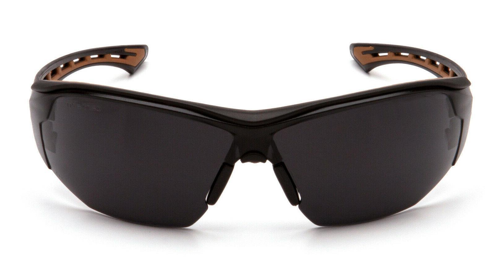 Carhartt Easley Gray/Smoke ANTI FOG Lenses Sunglasses Z87+