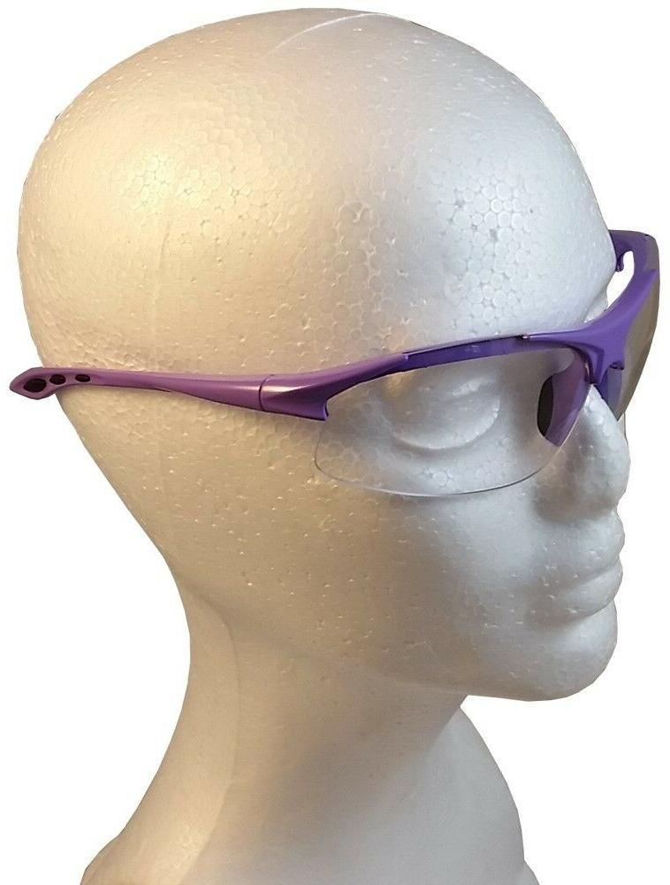 ERB Safety with Purple Clear Lens
