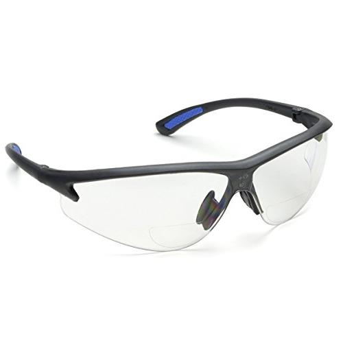 bifocal safety glasses polycarbonate clear