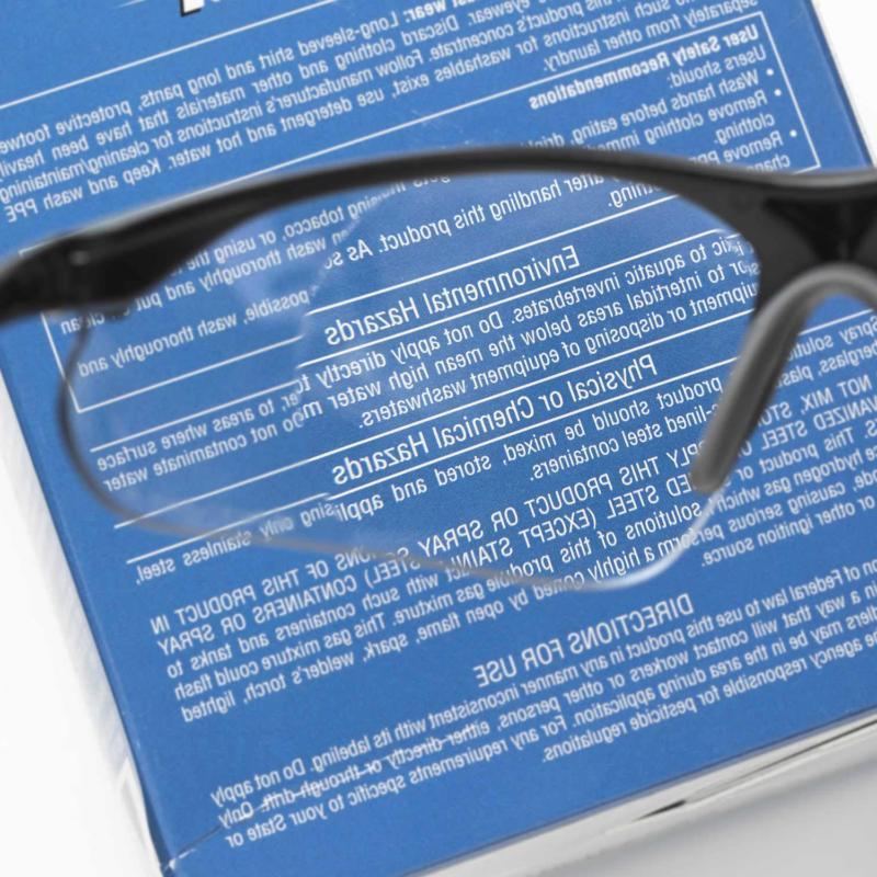 Elvex Full Lens Safety Glasses,