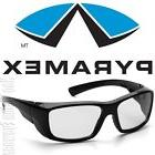 Pyramex Emerge Black Clear Lens Safety Glasses Motorcycle Sh