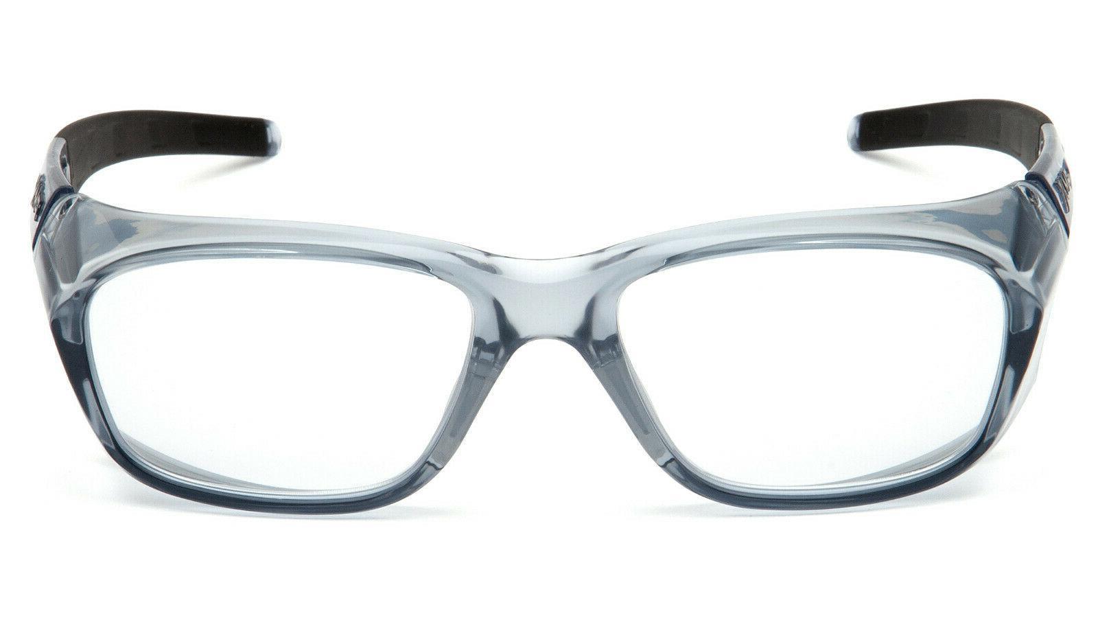 Pyramex Full Reader Gray Reading Glasses Z87+