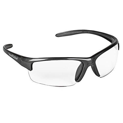 Smith & Wesson Equalizer Safety Glasses, Gun Metal Frame, Cl