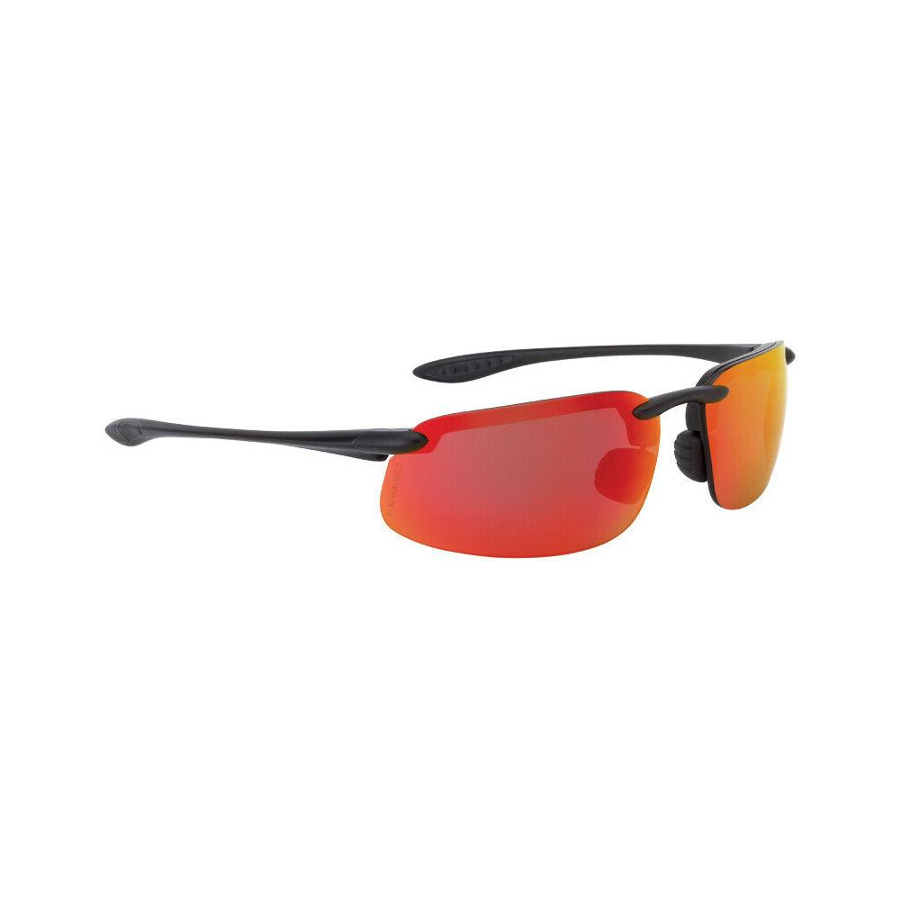 Crossfire ES4 Fire Red Mirror High Definition Safety Glasses