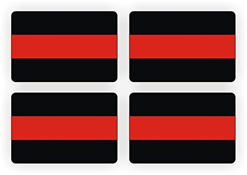 firefighter thin red line decals