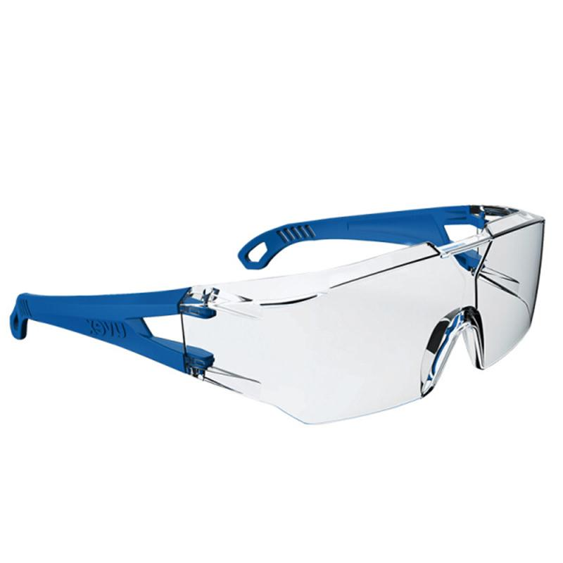 BOLLE HIGH QUALITY SAFETY GLASSES PROTECTIVE EYE WEAR CLEAR LENS CONTPSI RDG