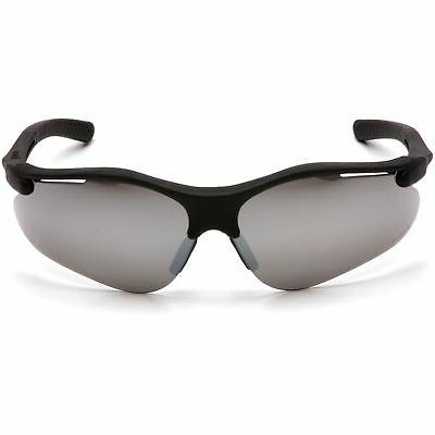 fortress safety glasses black frame