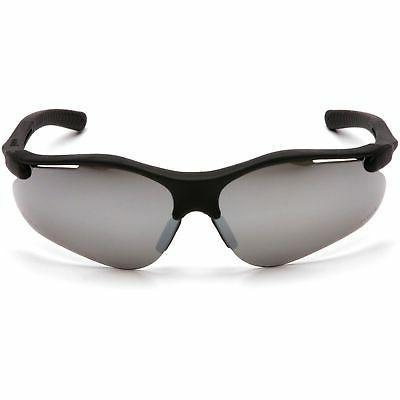 fortress safety glasses black frame