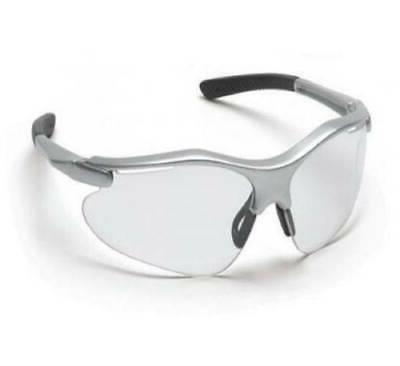 pyramex safety glasses ms97170 clear lens silver