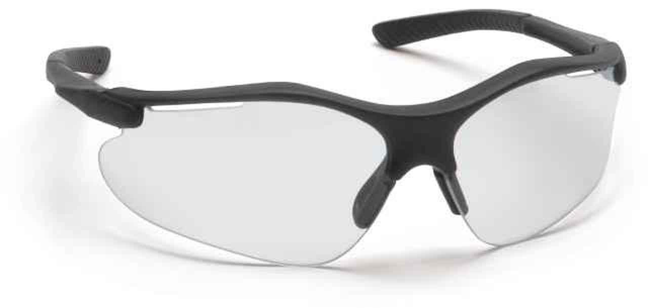 fortress safety glasses with black frame