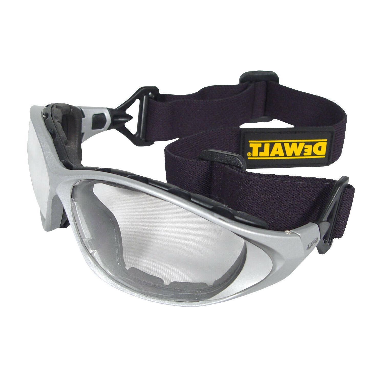 Dewalt Framework Clear Lens Padded Goggles