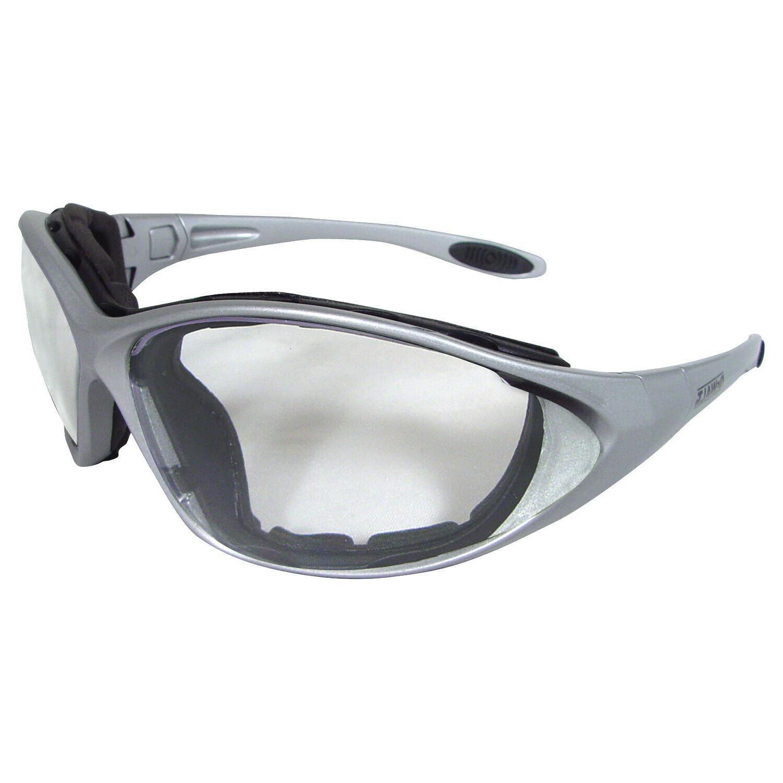 Dewalt Framework Clear Padded Safety Goggles Silver Z87+