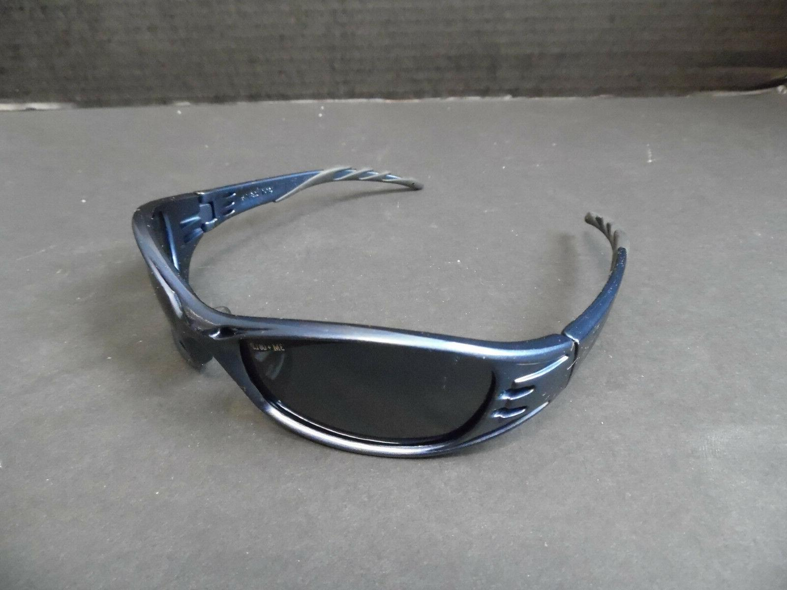 fuel safety glasses dark blue with black