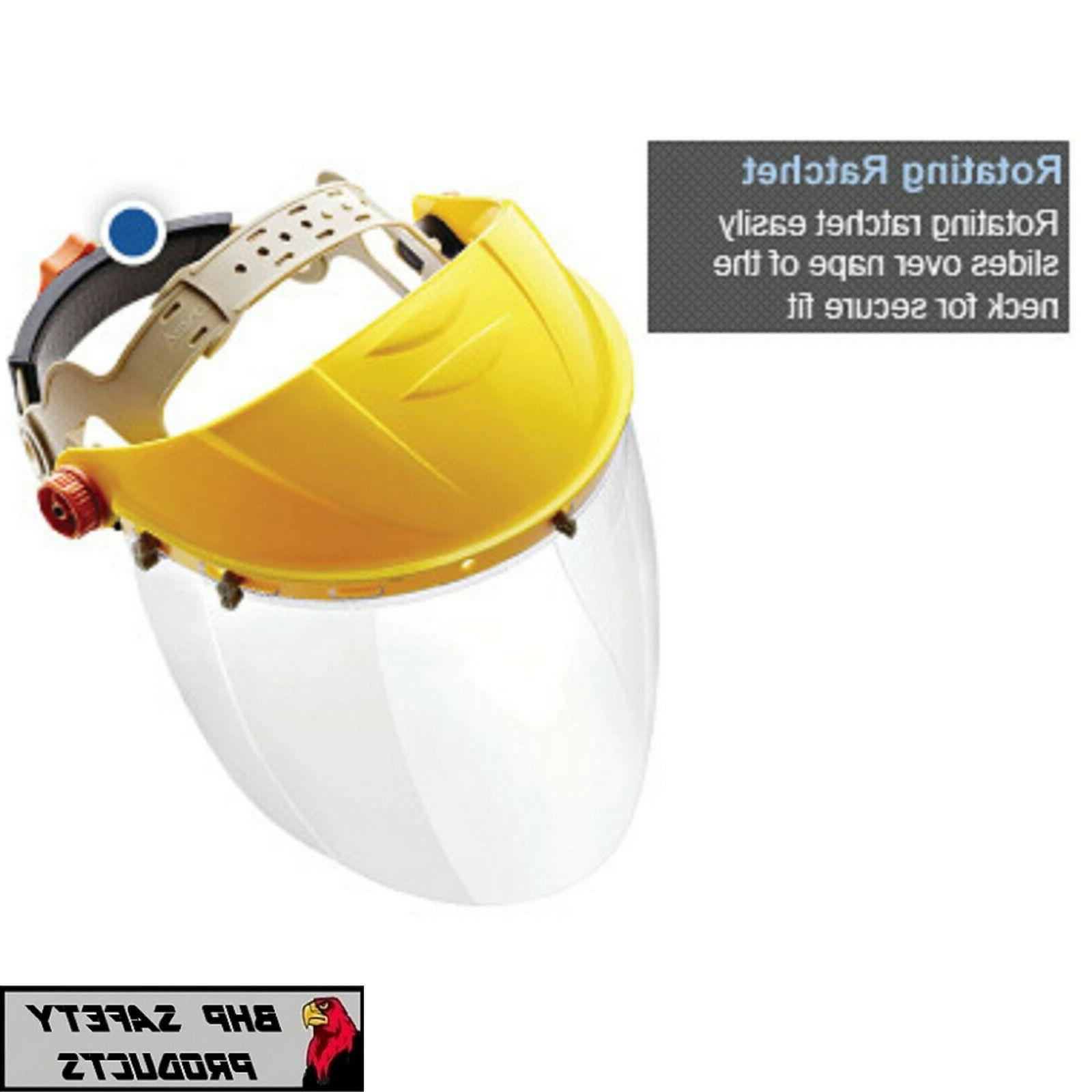 Full Safety Shield Tool Mask Clear Painting Protection Grinding