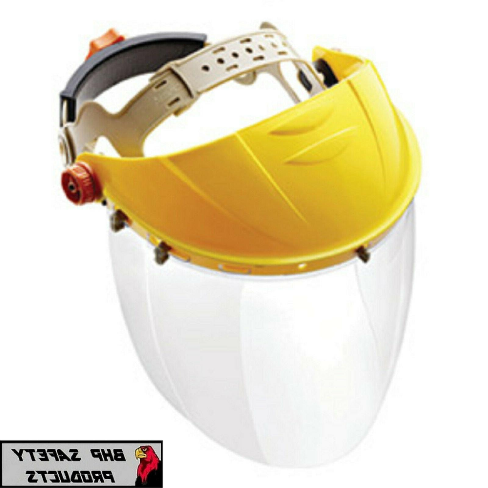 Full Safety Shield Tool Clear Painting Grinding