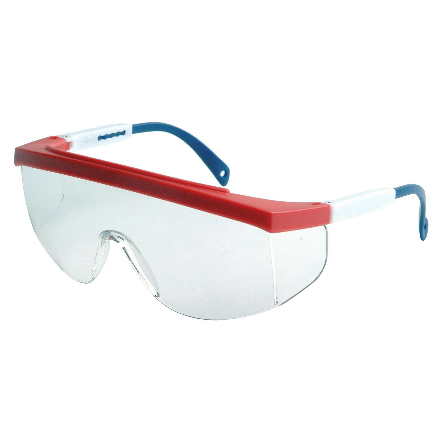 galaxy red white blue clear fit over