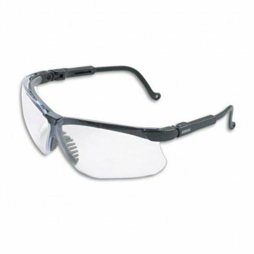 genesis wraparound safety glasses black