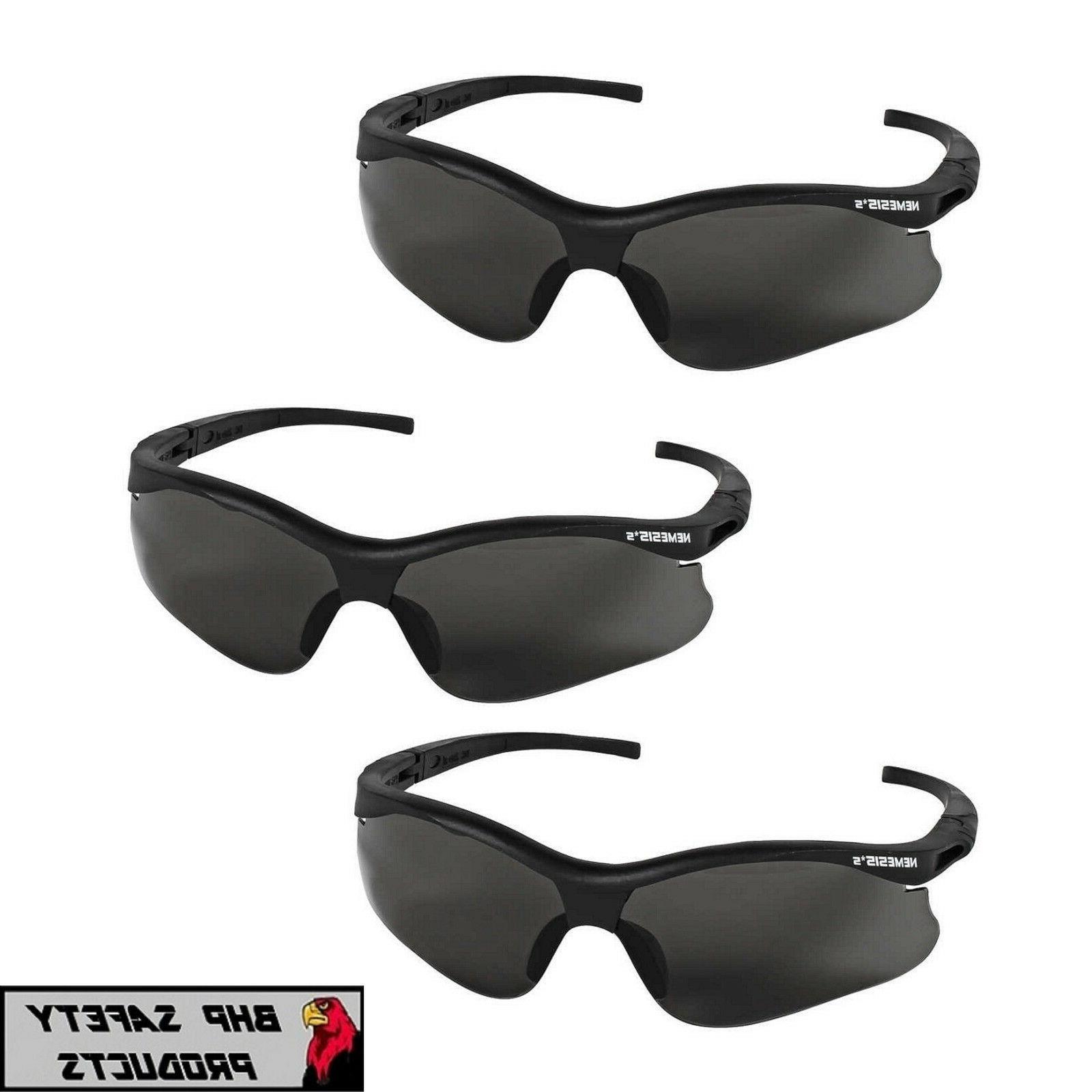Safety Glasses, Smoke, Hard Coated 38476