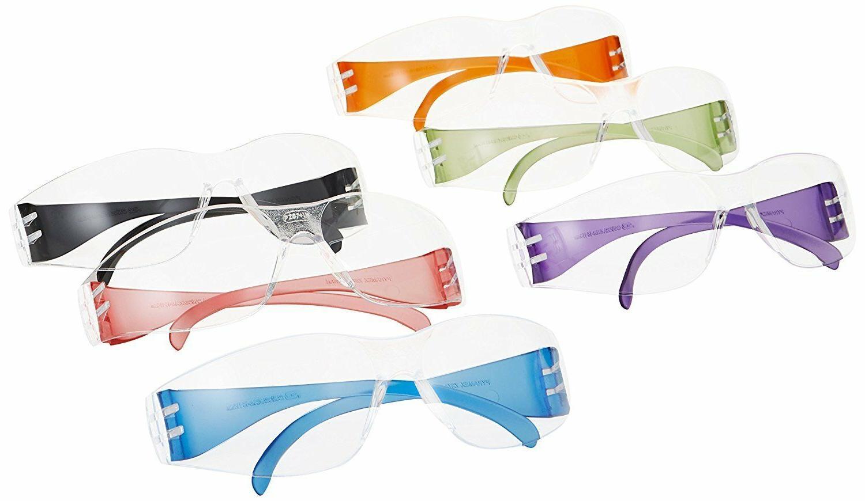Glasses Safety Intruder Mini 12 Pack Multicolor Child Clear