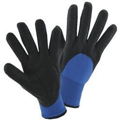 Wells Lamont Glove Nitrile Men Large Elasticized, Knit Lined