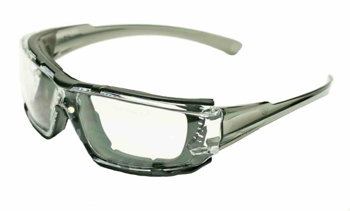 Elvex Go Specs IV Safety Glasses,Clear Anti Fog Lens,Foam Li
