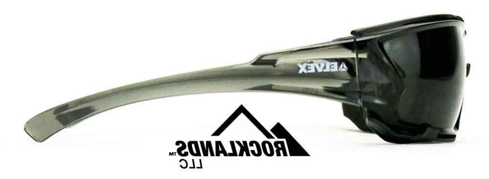 Elvex Go Specs IV Safety Anti Lens,Foam Line, Grey