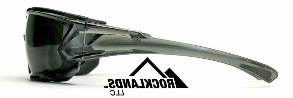 Elvex Go Safety Glasses,Grey Anti Fog Lens,Foam Line, Temples