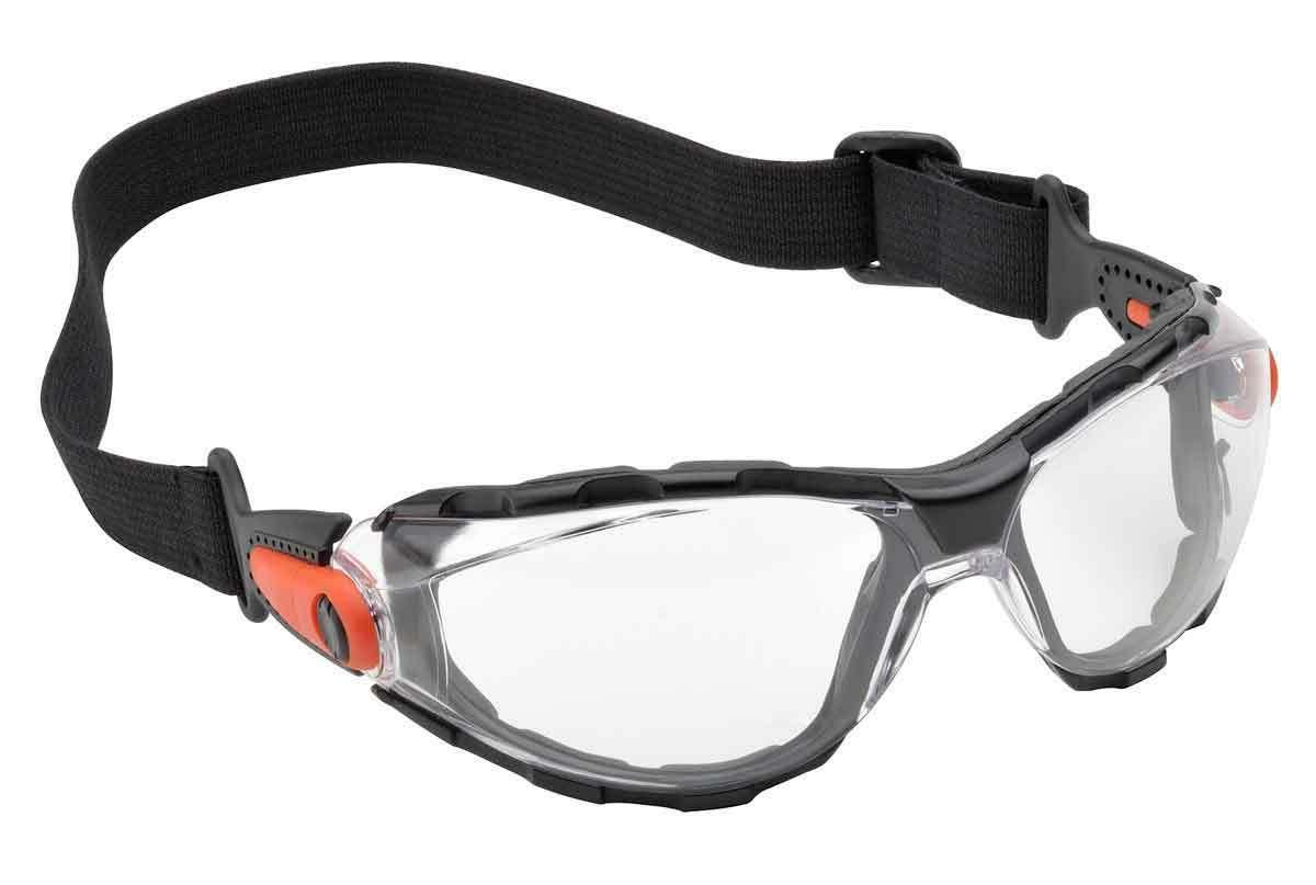 go specs safety sun glasses goggles clear